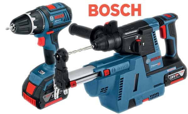 Bohlin & Nilsson Borrhammare Bosch GBH 18V 26 med dammsugare